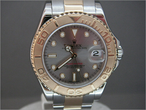 Pre owned Rolex mid-size Yacht-Master 168623