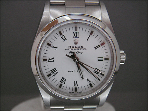 As new mens Rolex Air-King 14000m