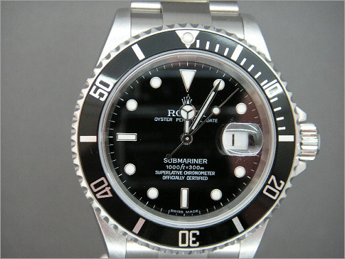 As new Rolex Submariner Date 16610