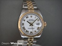 New Rolex Ladies Date-just 179173 - Brand New Complete Watch