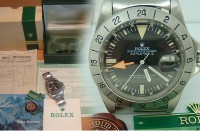 Totally complete Mens Rolex  Explorer 2 orange hands 1655