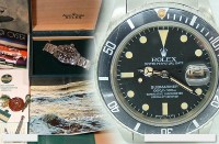 Very early Mens Rolex transitional Submariner 16800 totally complete