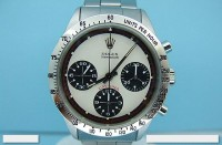 Very rare Mens Rolex Paul Newman Daytona 6239 box & papers