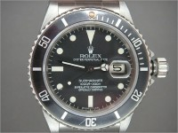 Vintage Mens Rolex transitional Submariner 16800 totally complete
