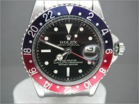 Ultra rare Rolex GMT 1675 Gloss exclamation dial - Stunning