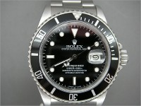 Rare Rolex Transitional Submariner 16800 Box and Papers 16800