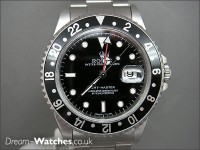 Pre owned Rolex GMT Master 16700