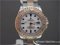 Ladies Rolex Yacht-Master 169623 29mm Brand New Complete Watch