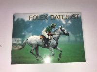 GENUINE ROLEX DATE-JUST BOOKLET FOR MENS AND LADIES MODELS - RARE