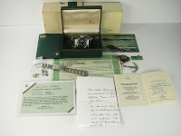 Vintage Rolex Red Writing Submariner 1680 - Museum Set - Double Punched Papers!!