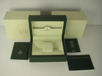 Rolex Inner and Outer Box Set with Guarantee Holder, Translation guide, Rolex Oyster booklet