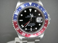 Rolex GMT Master II 16710 Pepsi Bezel 2004 Complete UK Watch