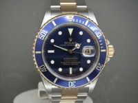 Rolex Submariner Steel & Gold Blue Kit 2008 UK Complete Watch Last Batch Made