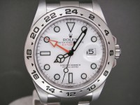 Rolex Explorer ll New Model 216570 Orange Hand White Dial 2011 UK Watch