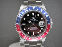 Rolex GMT Master ll 16710 Pepsi Bezel 2002 Complete Pristine Example