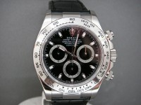Rolex Daytona 116519 White Gold Crocodile Strap Brand New