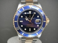 Rolex Submariner 16613 Blue Bezel Totally Complete UK Pristine Example