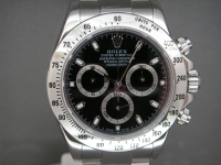 Rolex Daytona Stainless Steel 116520 Black Dial Just Had Full UK Rolex Service Amazing!
