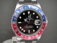 Rolex GMT Master ll 16710 Pepsi Bezel 2006 Rare Stick Dial UK Watch