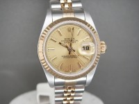 Ladies Rolex Date-Just 79173 Steel & 18ct Gold 2005 Box, Papers, Booklets