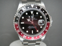 Rolex GMT Master ll 16710 Coke Bezel 2006 Complete Pristine Example