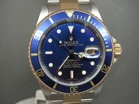 Rolex Submariner Date 16613 Steel and 18ct Gold Blue Bezel- Pre Owned