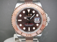 Rolex Yacht-Master 126621 40mm Everose Gold and Steel Chocolate Dial Brand New Watch