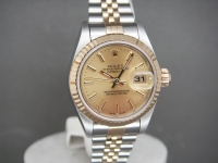 Ladies Rolex Date-Just 79173 Steel & 18ct Gold Worn 6 times! Totally Complete