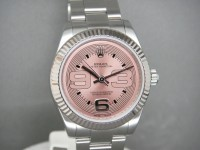 Rolex Ladies Mid-Size Oyster 177234 | Pink Funky Salmon Dial | 2008 UK Watch