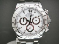 Rolex daytona 116520 Stainless Steel White Dial 2013 UK Complete Watch