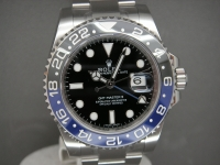 "Rolex GMT Master ll 116170BLNR ""Bruiser"" Day/Night New Complete Example"