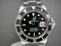 Rolex Submariner Date 16610 2001 Totally Complete Pristine Pin Hole Example