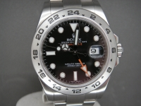 Rolex Explorer ll 216570 Black Dial 42mm Orange Hand Complete Pristine Watch