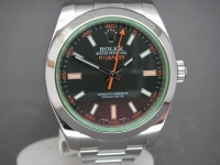 Rolex Milgauss 116400GV Black Dial Green Crystal 2014 UK Complete Watch