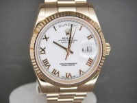 Rolex Day-Date 118238 18ct Yellow Gold Brand New Complete Watch
