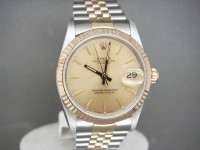 Ladies Rolex Date-Just 68273 Mid Size Steel & 18ct Gold Pristine Example