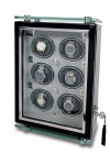Multiple Watch Winder - Optima Watch Cabinets - Ebony - W266