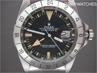 Early Vintage Mens Rolex Explorer 2 1655 Steve McQueen orange hand